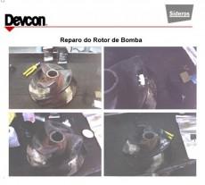 Reparo do Rotor de bomba
